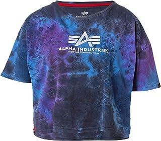 ALPHA INDUSTRIES Batik COS Wmn Galaxy Batik - Camiseta básica para mujer