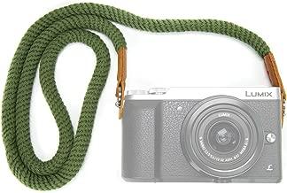 MegaGear MG937 Cotton StrapComfort Padding, Security for All Cameras (Medium75cm/29inc), Green