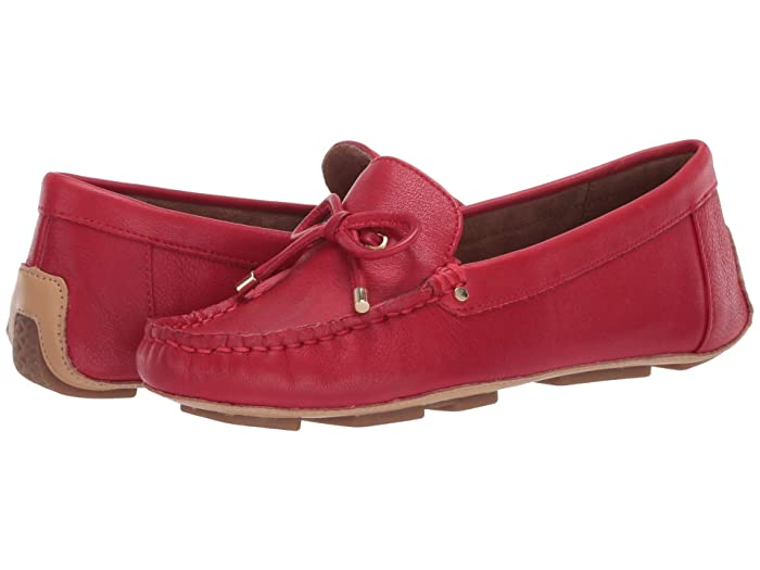 Aerosoles  Brookhaven (Red Leather) Womens Shoes