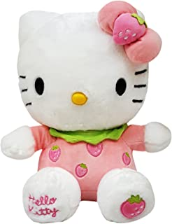 4f75351f9 Hello Kitty Plush - Strawberry, Pink.White