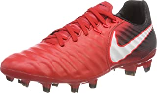 NIKE Junior Tiempo Legend VII FG Football Boots 897728 Soccer Cleats (UK 5 US 5.5Y EU 38, Gamma Blue White Obsidian 414)