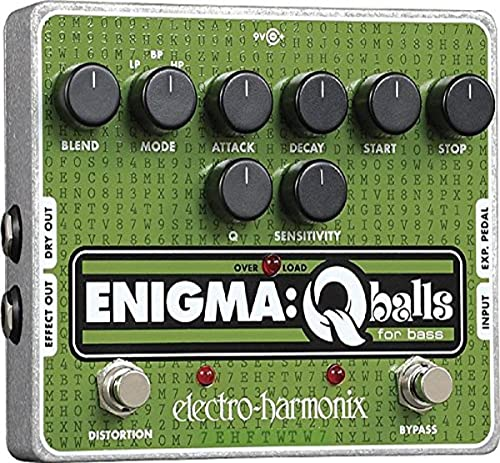 2021 Electro-Harmonix sale 2021 Enigma: Q-Balls for Bass Envelope Filter outlet sale