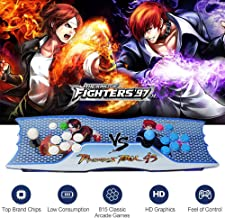 ElementDigital Double Arcade Games Console Home Arcade Joystick 2 Players Pandora's Box 4S Plus HDMI VGA Output 815 in 1 TV Arcade Console for Dual Gameplay TV PC