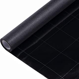VELIMAX Static Cling Total Blackout Window Film Privacy Room Darkening Window Tint Black Window Cover 100% Light Blocking ...
