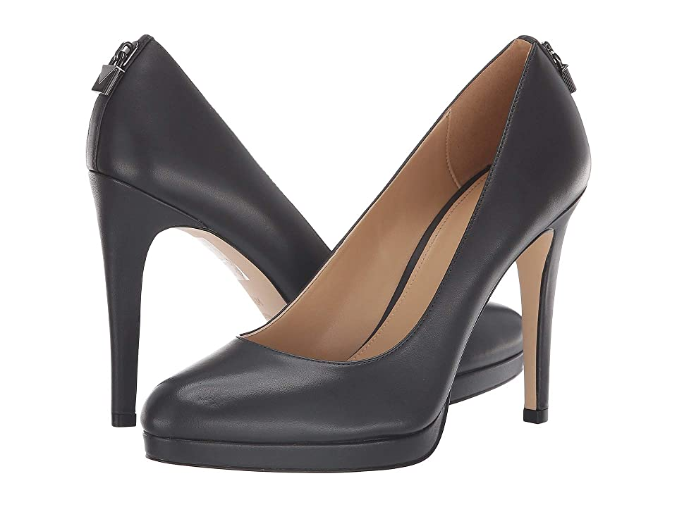 MICHAEL Michael Kors Antoinette Pump (Charcoal Vachetta) High Heels