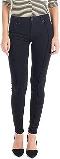 Suko Jeans Women's Ponte Skinny Pants - Front Seam Detail - Stretch