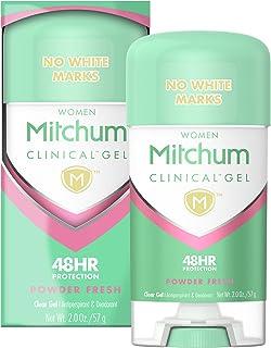 Mitchum Women Clinical Gel Antiperspirant Deodorant, Powder Fresh, 2.0oz
