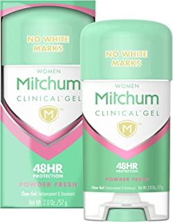 Mitchum Women Clinical Gel Antiperspirant Deodorant, Powder Fresh, 2.0oz