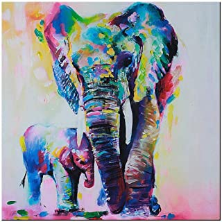 Best multicolored elephant canvas Reviews