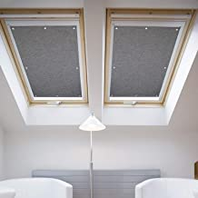 BLACKOUT THERMAL ROLLER ROOF SKYLIGHT BLINDS FOR ALL VELUX WINDOWS Easy Fit New