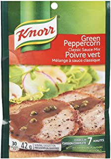 Knorr Classic Sauce Mix, Green Peppercorn, 42 Grams/1.5 Ounces