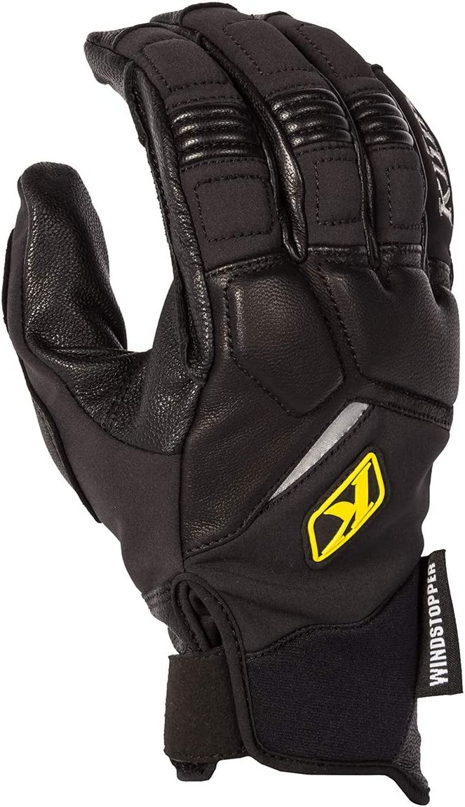 KLIM Inversion Mens Ski Snowmobile Gloves Black//X-Large