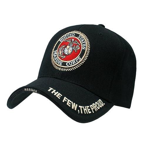 63c96107c25 USMC U.S. MARINES INSIGNIA HAT CAP MILITARY HATS CAPS