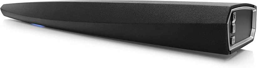 Denon DHT-S716H Premium Home Theater Soundbar with Wireless Subwoofer | TrueHD Surround Sound | Bluetooth, HEOS & Amazon Alexa Compatibility | Quick Setup - All Cables Included | Wall-Mountable, Black