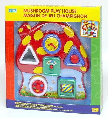 Interaktives musikalisches Pilz-Spiel-Haus durch Megcos