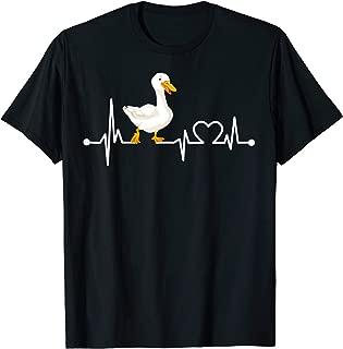 Goose Heartbeat Funny Farmer/Farming/Farm Cool Love Gift T-Shirt