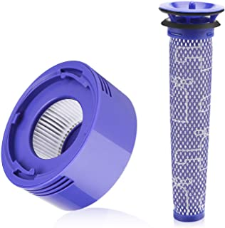 FIND A SPARE Post & Pre Motor HEPA Filter Kit for Dyson V8 Cordless Vacuum Cleaner
