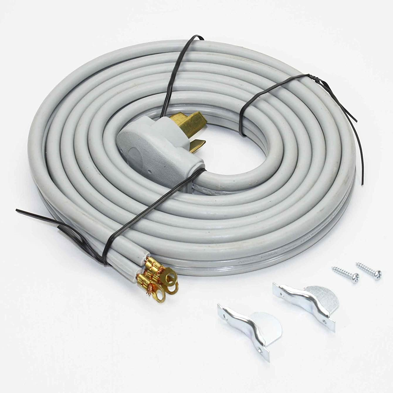RC3-50-10 Range Stove Oven Power Cord | 3 Wire | 10 Feet Long | 50 Amp 220 Volt