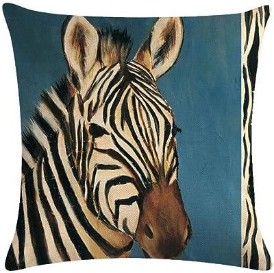 Amazon.com: CLveg Pillowcase Square Soft Bedding Home Cotton ...