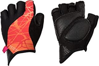 Terry Bella Gloves Women Specific Padded Insulated Fingerless Cycling Gloves with Gel Padding Ergonomic Ulnar Nerve Relief Ladies Half Finger Breathable Mesh Bike Gloves