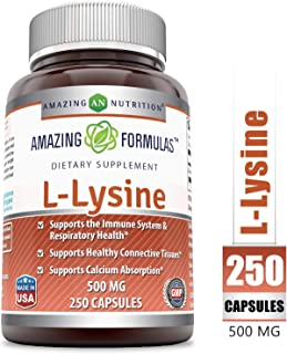Best 3000 mg l lysine Reviews