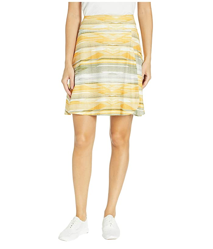 Prana Fiefer Skirt (Curry Bonita) Women