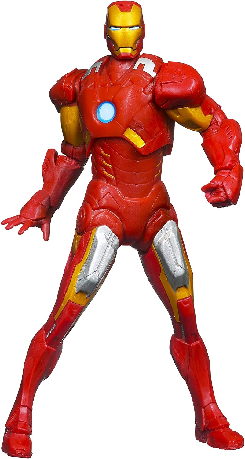 Marvel The Avengers Mighty Battlers Repulsor Battling Iron Man Figure