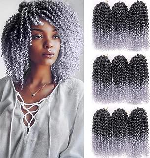 Best silver crochet hair Reviews