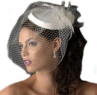 Best vintage bridal hat birdcage face veil Reviews