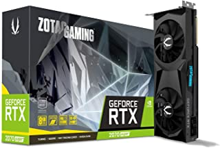 ZOTAC GAMING GeForce RTX 2070 SUPER Twin Fan 8GB GDDR6 256-bit 14Gbps Gaming Graphics Card, Ice Storm 2.0, Spectra Lightin...