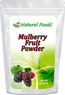 Mulberry Fruit Powder - 1 lb - Amazing Superfood Berry For Smoothies, Tea, Juice, Baked Goods, & Recipes - Raw, Vegan, Non...