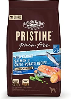 Castor & Pollux Pristine Grain Free Dry Dog Food with Raw Bites