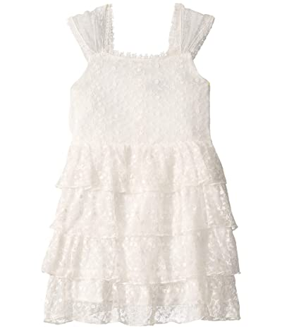 Bardot Junior Sage Rara Dress (Big Kids) (Ivory) Girl