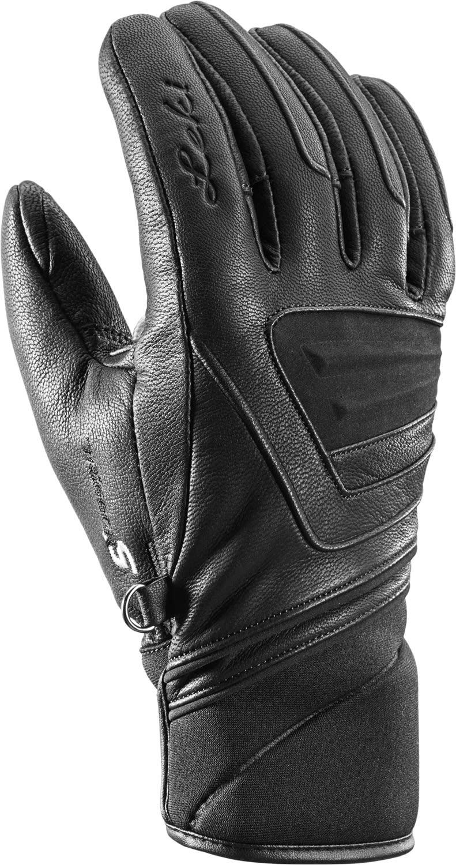 LEKI Nordic Tune Shark Boa Handschuhe, schwarz, EU 10