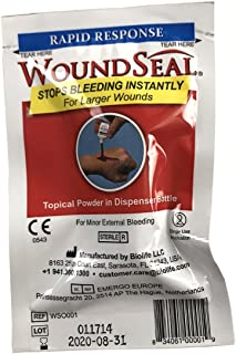 First Aid Only WoundSeal Blood Clot Powder, Rapid Response Bottle