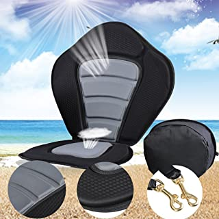 Kayak Padded Seat with Detachable Storage Bag, Portable Adjustable Strap, on Top Pad for Boat Canoeing