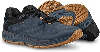 Running Bundle: Topo Men's MT-3 Trail Running Shoes Slate/Orange 8 & Earbuds