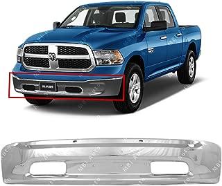 Bumper Bracket Front Steel compatible with Ram 1500 P//U 13-17 Set Of 2 Steel 2 Piece Bumper Type