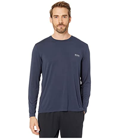 BOSS Hugo Boss Comfort Micromodal Shirt (Navy) Men