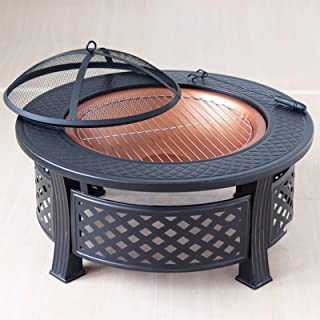 Home heating brazier Indoor charcoal brazier stove grilling stove Outdoor barbecue table courtyard grill` (Color : STYLE1,...