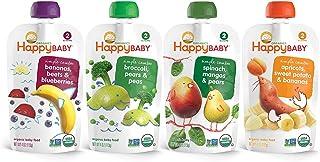 بسته بندی متنوع و کامپوزیت بسته های ساده کودک ساده ، غذای کودک ، 4 کیسه اونس (بسته 16 عدد) ، انواع طعم دهنده ، طعم دهنده های مختلف ممکن است متفاوت باشد