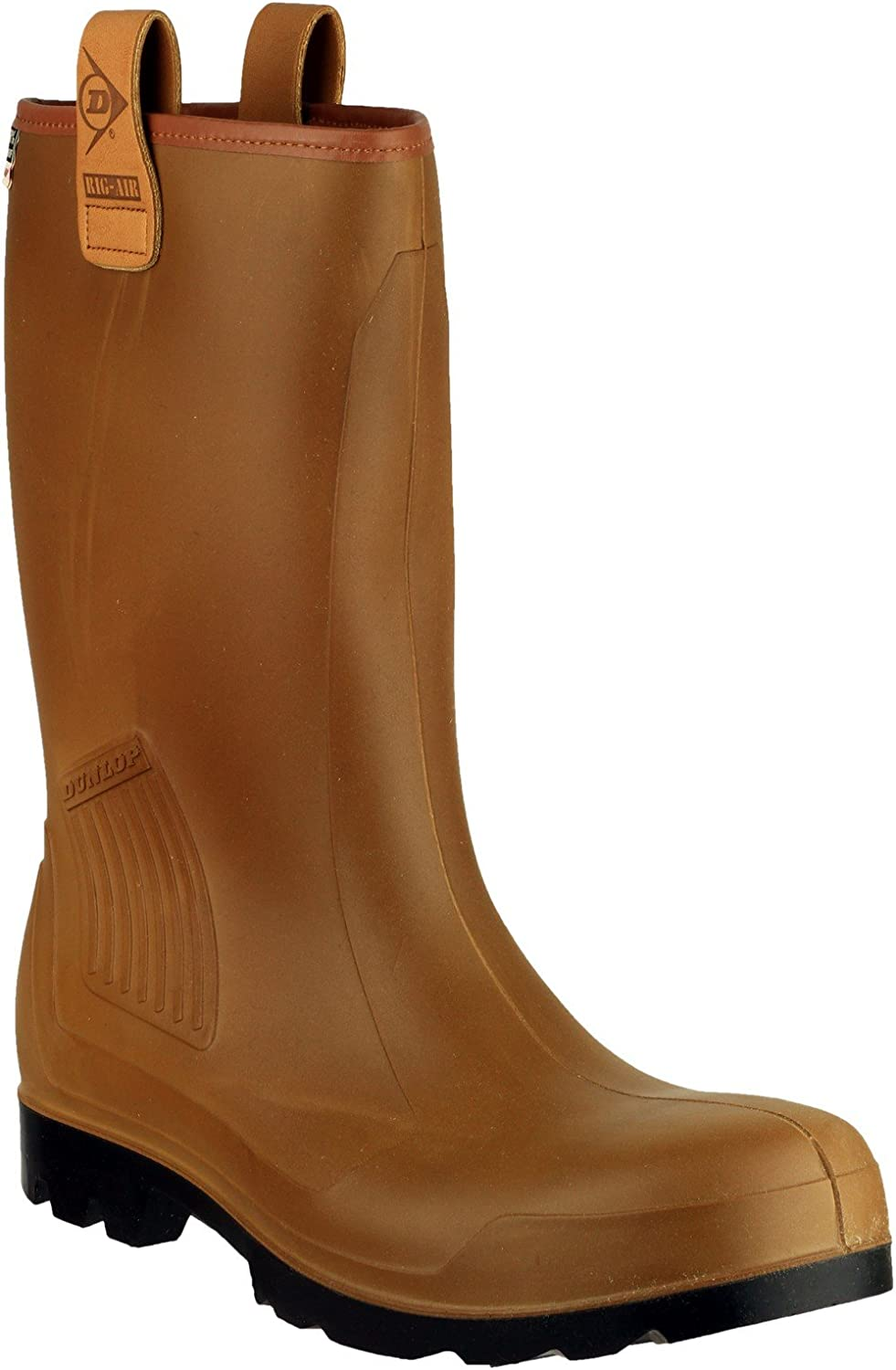 Dunlop R-AIR Lined C462 Safety Wellingtons