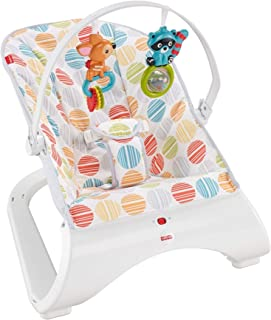 Fisher-Price Comfort Curve Bouncer Cake Pop, portable infant seat with toy bar