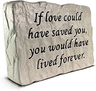 RocksOnly If Love Could Have Saved You - Memorial Stone (7.8 LB)