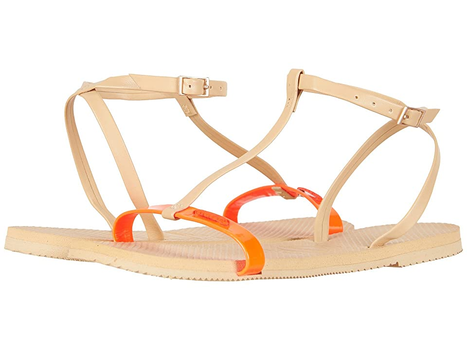 Havaianas You Belize Flip Flops (Cyber Orange) Women