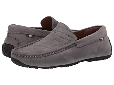 Bally Pico Suede Driver (Grey) Men