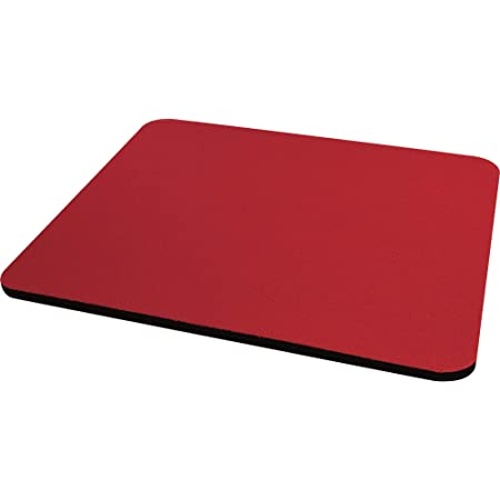 Fellowes 29701 Tappetino per Mouse Soft, Rosso