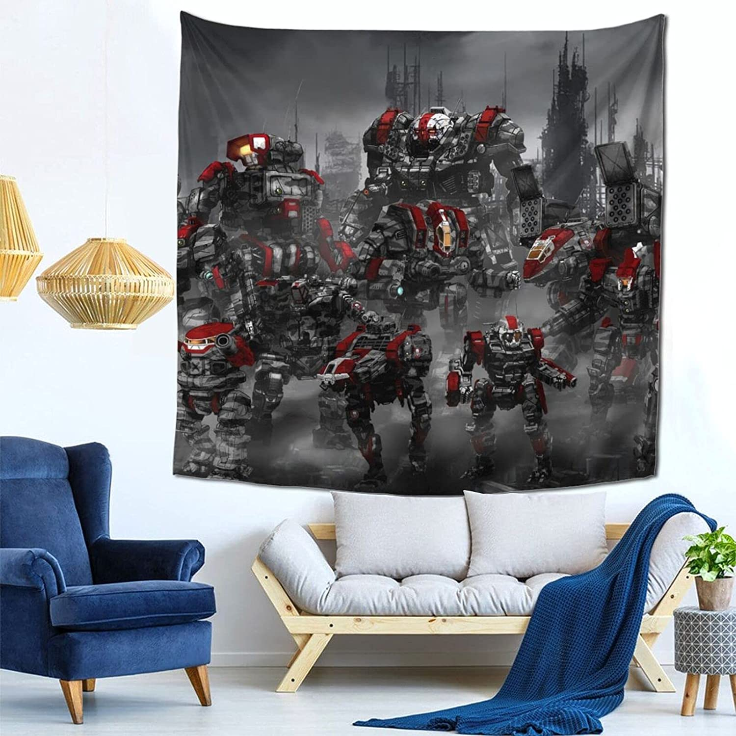DanielHud BattleTech New color Music Tapestry Columbus Mall Bedroom Poster Hanging Wall