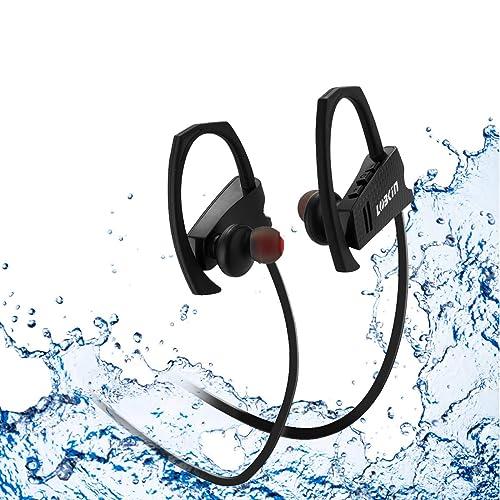 LOBKIN Auriculares Bluetooth Deportivos, Resistentes Al Sudor, con Una Autonomia de hasta 6 Horas