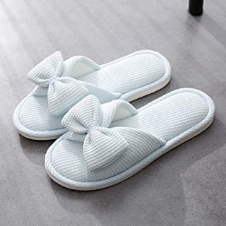 JLHBM Zapatillas De Casa Zapatillas De Interior Suaves Y Suaves Zapatillas De Casa con Deslizador De Punta Abierta Se Pueden Lavar (Color : E, Size : 37-38)